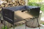 Пользование мангалом / дрова
